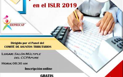 Conversatorio: Efectos del Ajuste por Inflación Fiscal en el ISLR 2019